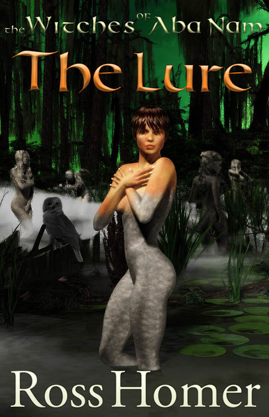 The Witches of Aba Nam - The Lure - front cover -web